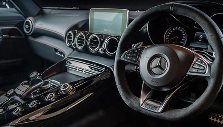Mercedes AMG GTS interior