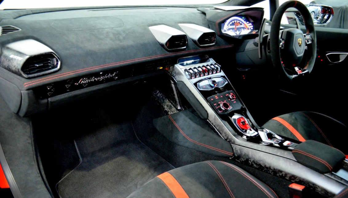 Lamborghini Huracan Performante Spyder Hire