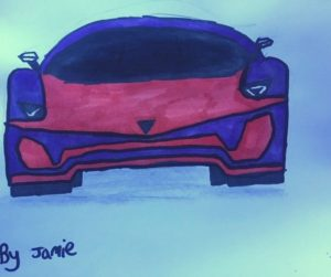 Lamborghini Aventador Colouring
