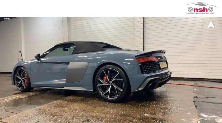 Audi r8 Hire